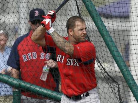 "Mike Napoli made the stunning statement, ""I want to be able to walk when I'm older."""