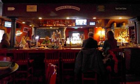 McLadden's Irish Publick House in Hampden is a cozy spot for a pint.