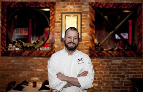 Chef Martin Lyons of XO Cafe.