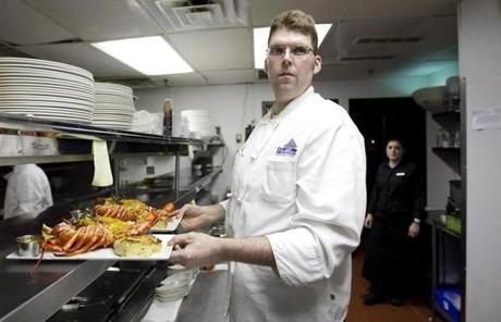 Chef Steven Long of Hemenway's Restaurant.