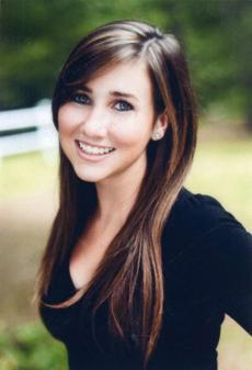 Lauren Astley was recalled as a talented singer who was headed for college.