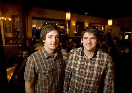 DRESS CODE: Beer brewers Zach Page of Boston and Brian Forbis of Brookline at a Boston Beer Week kickoff party at the Publick House in Brookline on March 8. ... SEE YOURSELF ON THIS PAGE. E-mail party and event photos to outandabout@globe.com.