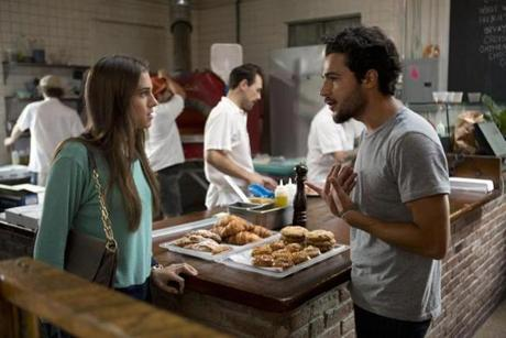 Christopher Abbott and Allison Williams as Charlie and Marnie.