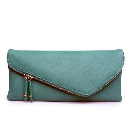 Zip clutch by Urban Expressions, $46, at Crush Boutique.