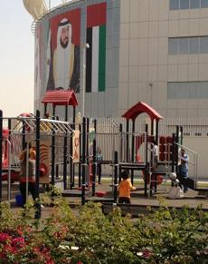 The playground in Abu Dhabi.