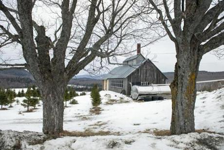 Adam Parke's sugarhouse in Barton, Vt.