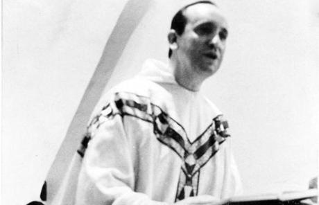 Argentine Cardinal Jorge Bergoglio is seen in an undated photo.