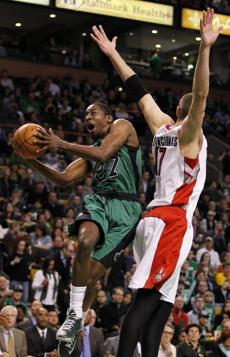 Jordan Crawford provided 12 points off the bench for the Celtics.
