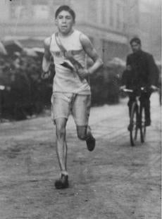 The Boston Marathon-1907-Tom Longboat winner -- Marathonhistory