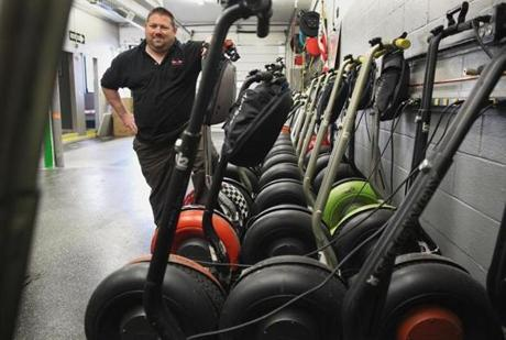 Boston By Segway's Allan Danley said his firm has amassed $200,000 in violations, which he vows not to pay.