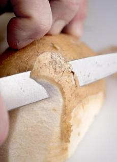 Use a paring knife to peel jicama, making sure you remove the fibrous layer just beneath the skin.