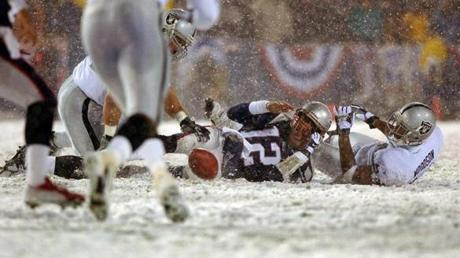 Instead, after video review, referee Walt Coleman employed the tuck rule -- instituted less than three years before the game -- to call the play an incomplete pass and award the ball back to the Patriots.