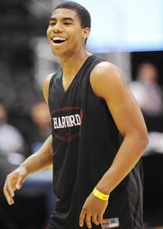 It has been another fine year for Harvard, but a test awaits Wesley Saunders and his teammates in the NCAA Tournament.