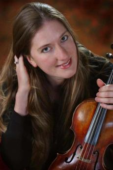 Concertmaster Christina Day Martinson will perform with Boston Baroque.