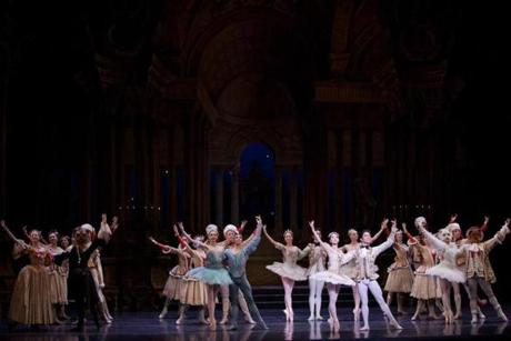 The finale of Boston Ballet's