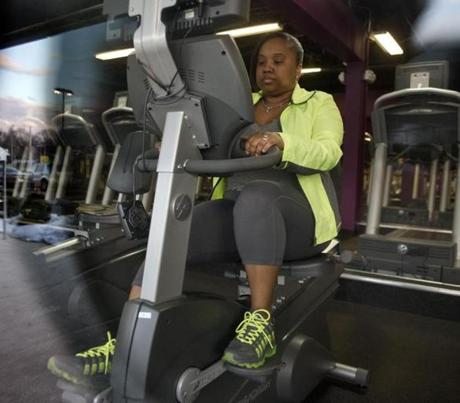 The mayor inspired Alicia Alves-Goodz of Dorchester, who has lost more than 10 pounds since January. She works out and carefully tracks what she eats.