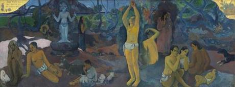 """Where Do We Come From? What Are We? Where Are We Going?"" by Paul Gauguin."