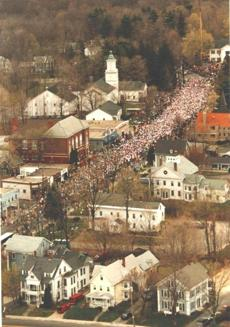 04/15/91---START OF THE BOSTON MARATHON. bostonmarathon1991