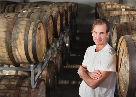 Privateer Rum owner Andrew Cabot
