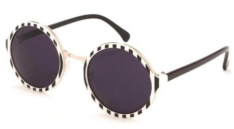 Retro round sunglasses by A.J. Morgan, $24 at Nordstrom, Northshore Mall, Peabody, 978-278-7400, nordstrom.com