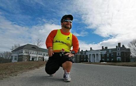 """The people who support and encourage me are the ones that get me to the starting line, while the ones who doubt or ridicule me are the ones that carry me to the finish line,"" said John Young, 47, of Salem."