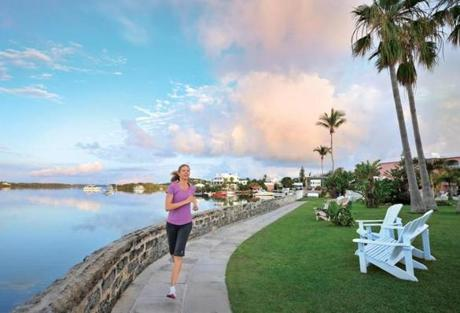 Guests staying at a Fairmont property can rent workout gear.
