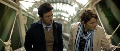 "Shane Carruth with Amy Seimetz in ""Upstream Color."""