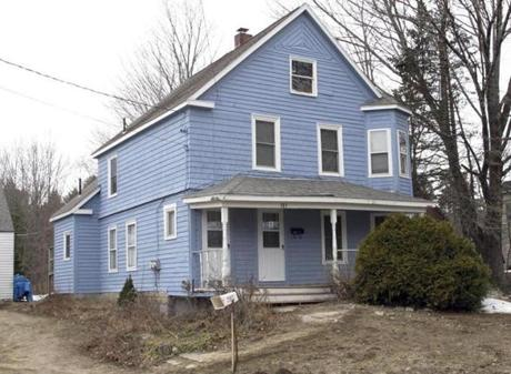 Gary Allen Irving was arrested last week at this house in Gorham, Maine, after being on the run for 34 years, a fugitive from three rape convictions.