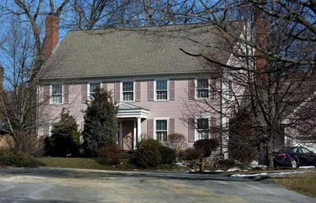 Edward Tutunjian's home in Belmont is just one of many properties he owns.