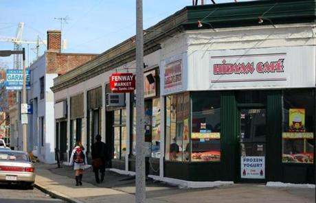 Another commercial property on Kilmarnock Street in Boston is owned by Tutunjian.