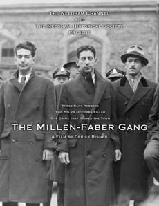 A poster made by Derick Risner for his film about the Millen-Faber Gang.