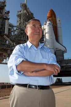 It took 16 years, $1.5 billion, and an act of Congress to get Samuel Ting's cosmic-ray detector aboard the shuttle.