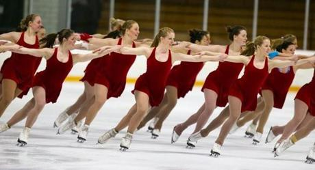 The Haydenettes have won a  record 21 national championships. With no other team winning more than three, they are the Boston Celtics of synchronized skating.