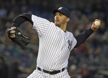 Andy Pettitte, 40, surrendered just one run to the Red Sox while Ryan Dempster allowed three runs while striking out eight Yankees.