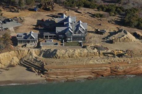 The Schifters plan to move their buildings back from the shore in a never-ending battle with erosion.