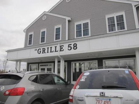 Grille 58 is a family restaurant specializing in seafood in Shelby Plaza.
