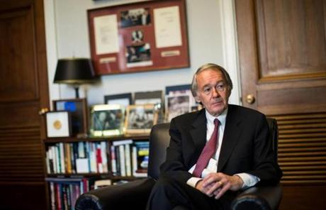 With his pathway toward more power in the US House uncertain, Edward Markey is trying to make an unprecedented transition to a seat in the Senate.