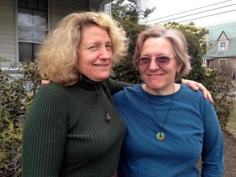 Singer-songwriters and longtime collaborators Linda Marks (left) and Lisa Wexler will perform at the second annual Voices of Boys and Men benefit concert on April 21, 5 to 7:30 p.m., at Scullers Jazz Club in Boston.
