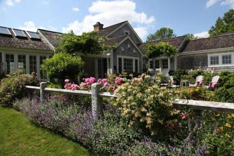 Garden in Pomfret, CT owned by Tubridy family
