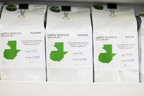 Alfaro's beans, distributed by Barismo Roastery, are stocked at Clover.