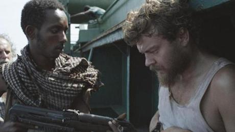 """A Hijacking"" isadrama about a commercial vessel hijacked by Somali pirates starring Pilou Asbaek (right)."