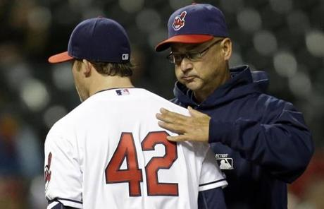 The game marked the first time the Red Sox faced off against former manager Terry Francona.