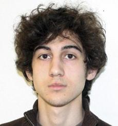 A suspect officials identified as Dzhokhar A. Tsarnaev  was being sought by police in the Boston Marathon bombings.