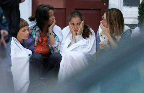 A family reacted after police assaulted a house on their street in Watertown during a search for Dzhokhar Tsarnaev.