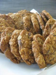 Sheryl Julian's oatmeal chocolate chip cookies.