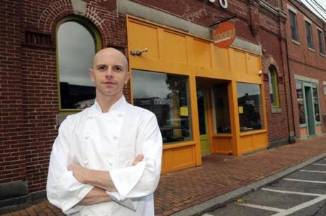 Chef Matt Louis of Moxy in Portsmouth, N.H.