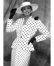 Fiandaca's polka dots in the '70s.