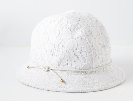 """Lily"" lace cloche from Genie by Eugenia Kim, $78 at Anthropologie, 203 Newbury Street, Boston, 617-262-0545, and other locations, anthropologie.com"