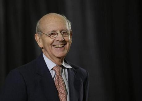 Injuries from a bike accident required that Supreme Court Justice Stephen Breyer have shoulder replacement surgery.