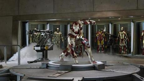 """Iron Man 3"" is a wide-release blockbuster."